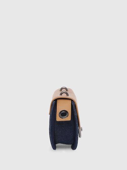 Diesel - DEBIE, Blue/Beige - Crossbody Bags - Image 3