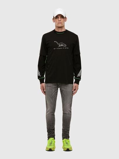 Diesel - Tepphar 009FP, Light Grey - Jeans - Image 6