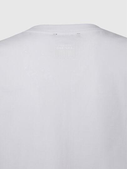 Diesel - T-EYES, White - T-Shirts - Image 4