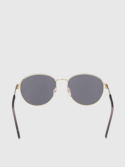 Diesel - DL0355, Black/Gold - Sunglasses - Image 4