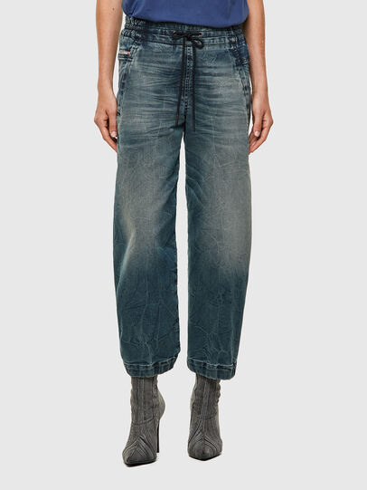 Diesel - Krailey Boyfriend JoggJeans® 069YG, Medium Blue - Jeans - Image 1