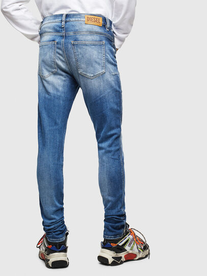 Diesel - D-Istort 009CJ, Medium Blue - Jeans - Image 2