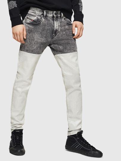 Diesel - D-Strukt 069GK, Black/Dark Grey - Jeans - Image 1