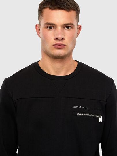 Diesel - S-CORINNE, Black - Sweatshirts - Image 3