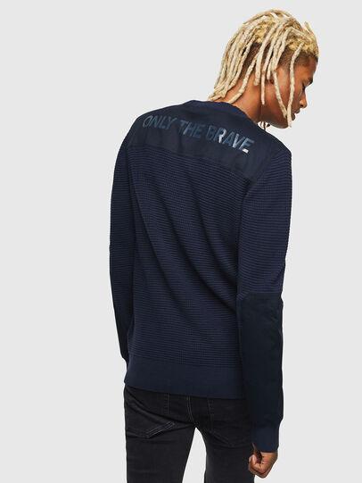 Diesel - K-LESTER, Dark Blue - Sweaters - Image 2