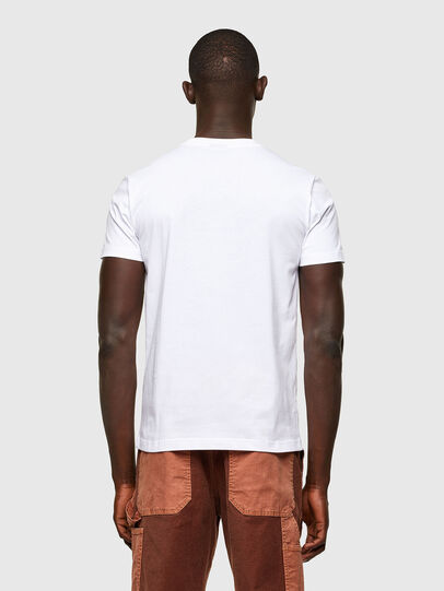 Diesel - T-DIEGOS-A2, White - T-Shirts - Image 2