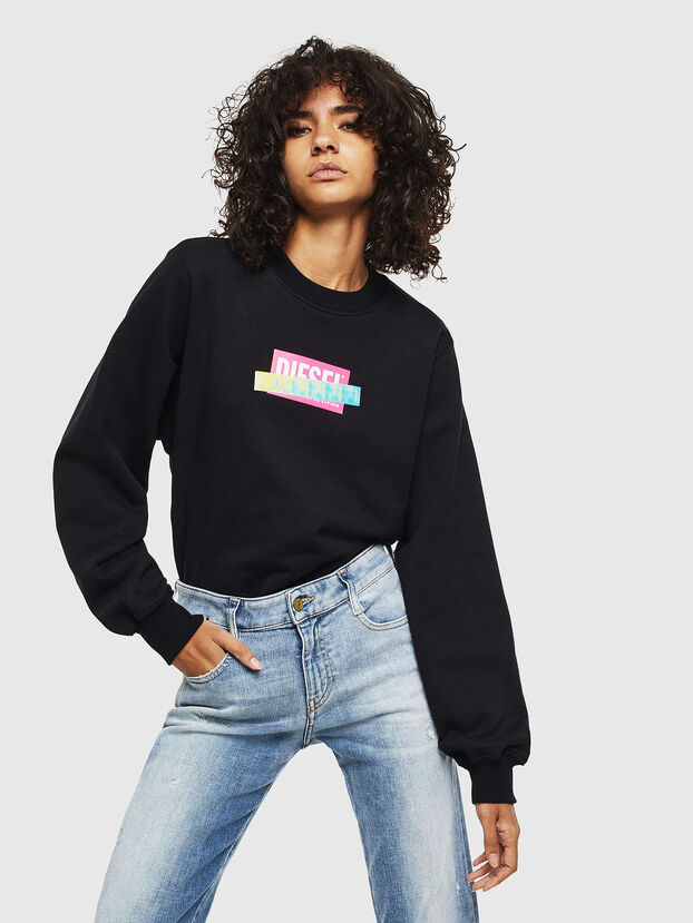 F-ANG-S1, Black - Sweatshirts