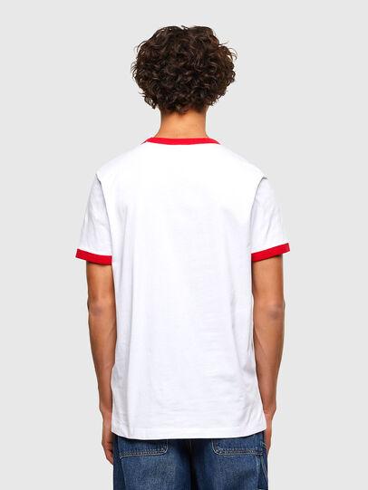 Diesel - T-DIERING-K10, White - T-Shirts - Image 2