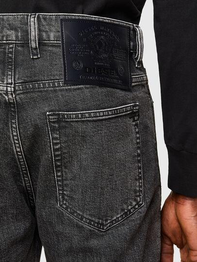 Diesel - D-Vider Carrot Jeans 009QZ, Black/Dark Grey - Jeans - Image 4