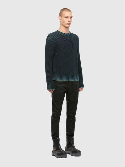 Diesel - K-LIAM, Dark Blue - Sweaters - Image 5
