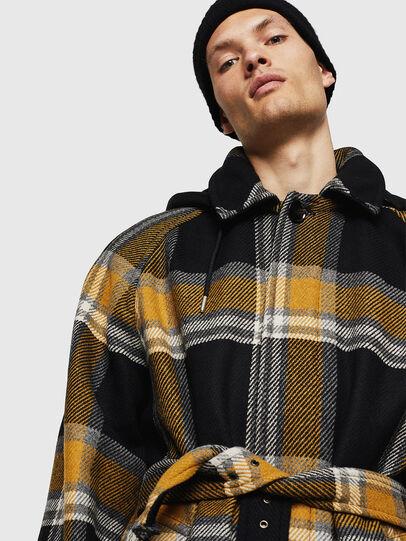 Diesel - W-STAL, Yellow Ocher - Winter Jackets - Image 4