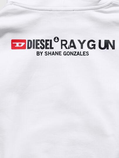 Diesel - US-S-ALBY, White - Sweatshirts - Image 6