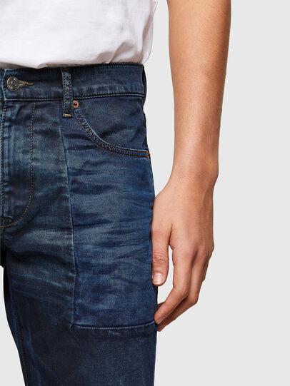 Diesel - D-Strukt Slim JoggJeans® 069TY, Dark Blue - Jeans - Image 4