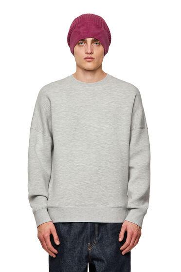 Sweatshirt in stretch scuba fabric