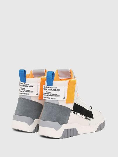 Diesel - S-RUA MID SP, White - Sneakers - Image 3