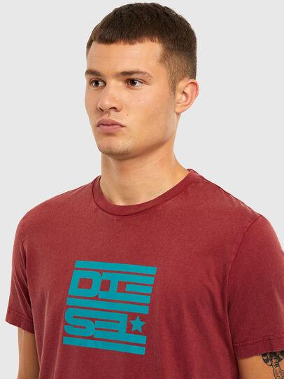 Diesel - T-DIEGOS-N31, Red - T-Shirts - Image 3