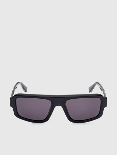 Diesel - DL0348, Black - Sunglasses - Image 1