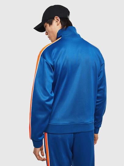 Diesel - S-CORTESS, Blue - Sweatshirts - Image 3