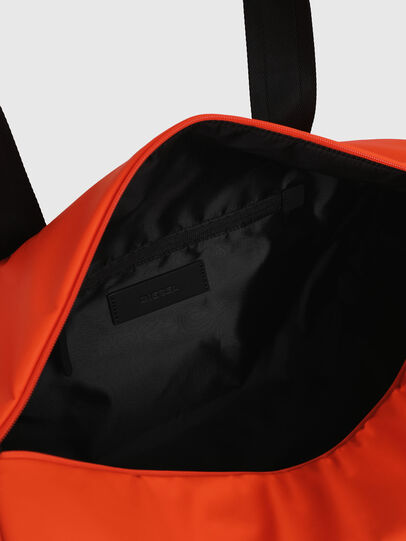 Diesel - F-BOLD DUFFLE, Orange - Travel Bags - Image 5
