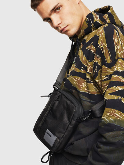 Diesel - ODERZO, Black - Crossbody Bags - Image 7