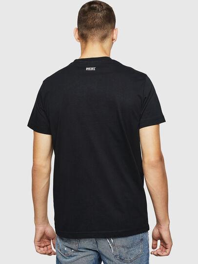 Diesel - T-DIEGO-B12, Black - T-Shirts - Image 2