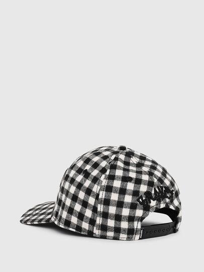 Diesel - CICHECK, Black/White - Caps - Image 2