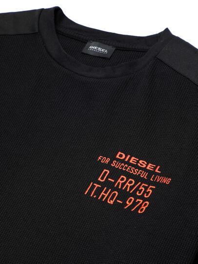 Diesel - UMLT-WILLY-W, Black - Sweatshirts - Image 3