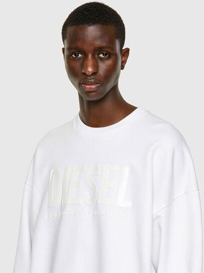 Diesel - S-MART-INLOGO, White - Sweatshirts - Image 3