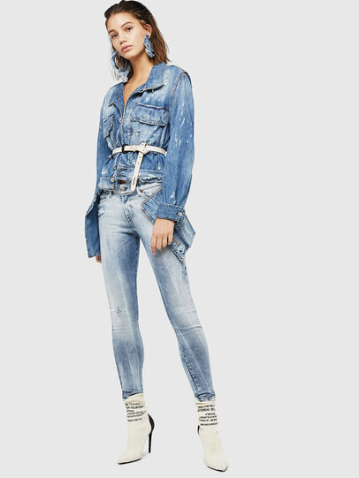 Diesel - Slandy 083AR, Light Blue - Jeans - Image 5