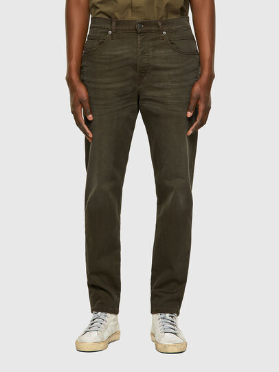 Diesel - D-Fining Tapered Chino 0699P, Military Green - Jeans - Image 1