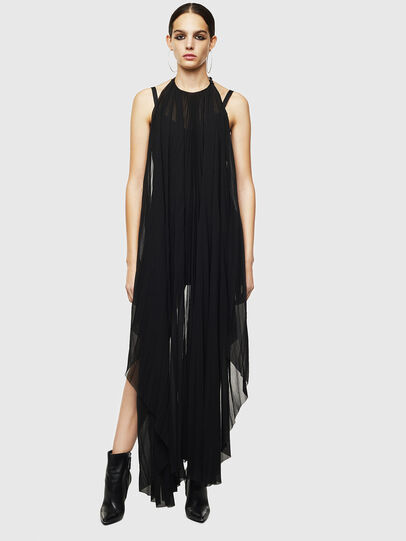 Diesel - D-SOLEIL, Black - Dresses - Image 1