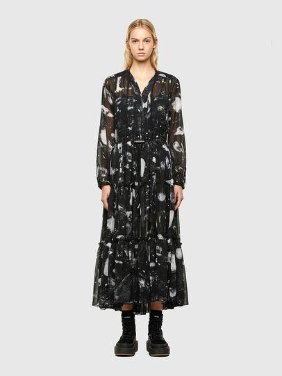 Diesel - D-HINES-A, Black - Dresses - Image 1