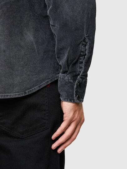 Diesel - S-EAST-LONG-VE, Black - Shirts - Image 4