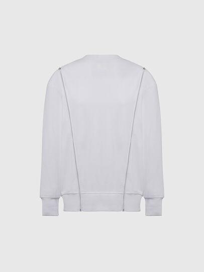 Diesel - F-GEORGIA, White - Sweatshirts - Image 2