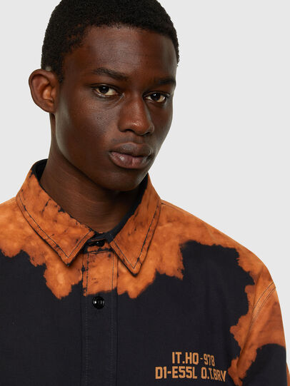 Diesel - S-BUNNELL, Black - Shirts - Image 5