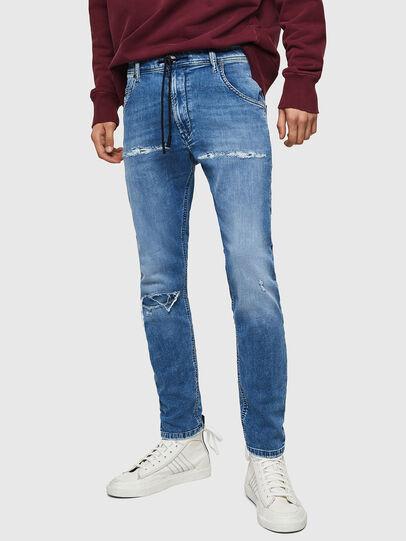 Diesel - Krooley JoggJeans 069IH, Light Blue - Jeans - Image 1