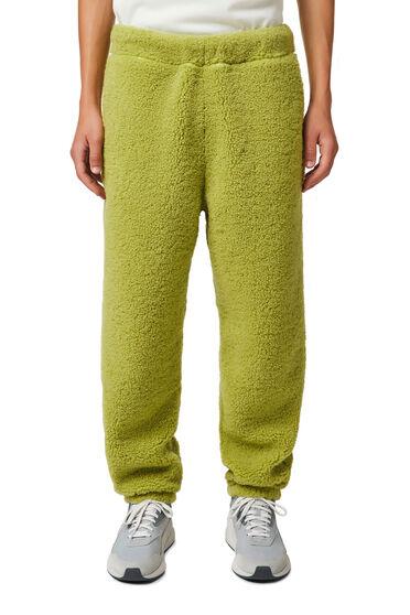 Trousers in teddy fleece