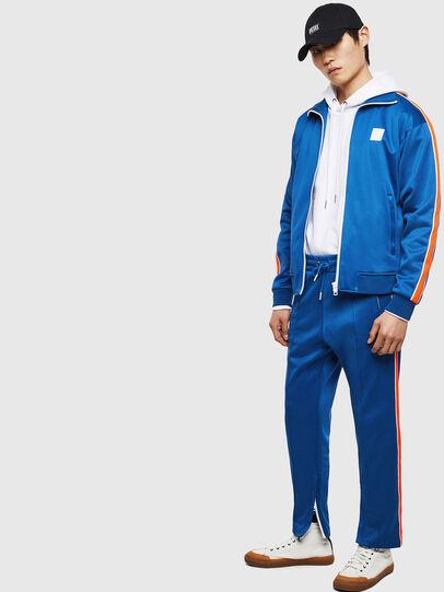 Diesel - S-CORTESS, Blue - Sweatshirts - Image 7