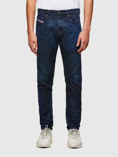 Diesel - D-Strukt Slim JoggJeans® 069TY, Dark Blue - Jeans - Image 1