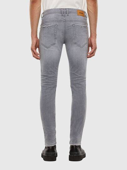 Diesel - Thommer Slim Jeans 009DC, Light Grey - Jeans - Image 2