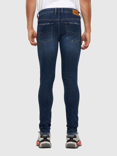 Diesel - Sleenker Skinny Jeans 009DK, Dark Blue - Jeans - Image 2