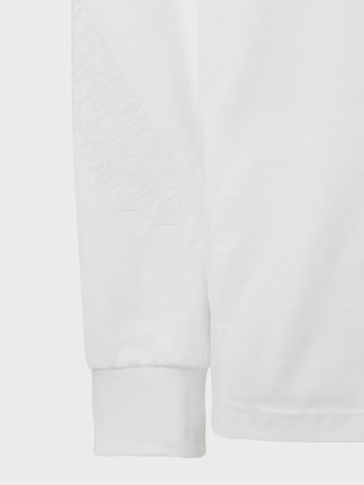 Diesel - T-JUST-LS-X91, White - T-Shirts - Image 4