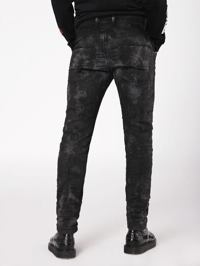 Diesel - Krooley JoggJeans 069AS, Black/Dark Grey - Jeans - Image 2