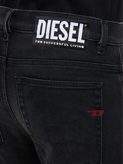 Diesel - D-Amny 009KS, Negro/Gris oscuro - Vaqueros - Image 5