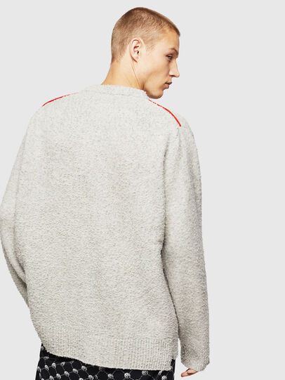 Diesel - K-CASY, Light Grey - Sweaters - Image 2