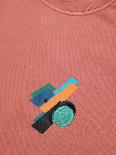 Diesel - PR-SW02, Pink - Sweatshirts - Image 4
