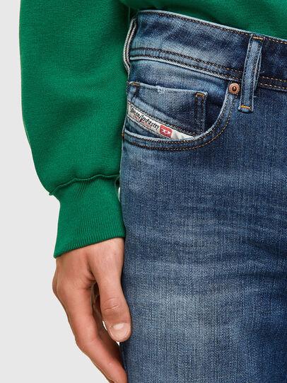 Diesel - Sleenker Skinny Jeans 009PN, Medium Blue - Jeans - Image 3