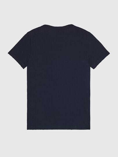 Diesel - T-DIEGO-LOGO, Dark Blue - T-Shirts - Image 2
