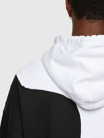 Diesel - S-BLASTY, White/Black - Sweatshirts - Image 4