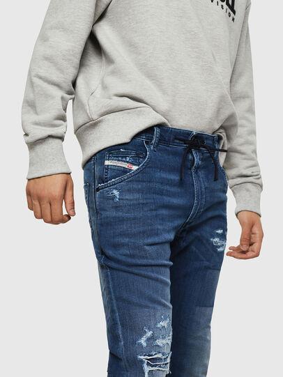 Diesel - Krooley JoggJeans 069HB, Medium Blue - Jeans - Image 3